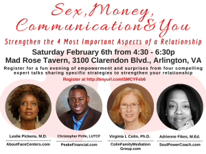 Sex Money Communication and You Feb 2016